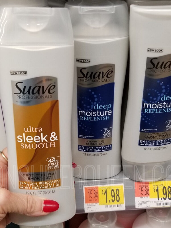 Suave Shampoo FREE at Walmart After Cash Back – Limited Time!