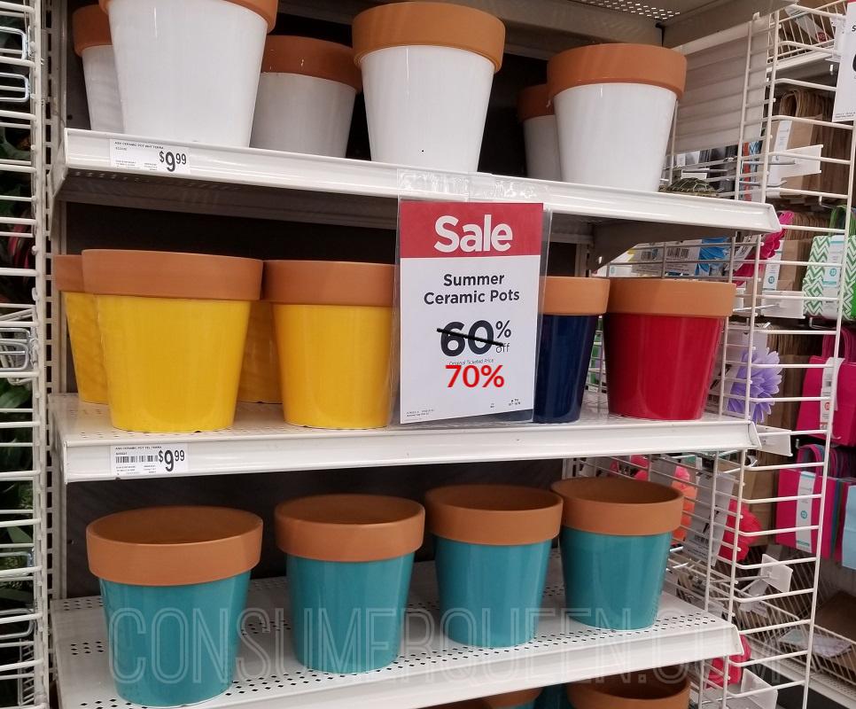 Summer Ceramic Pots