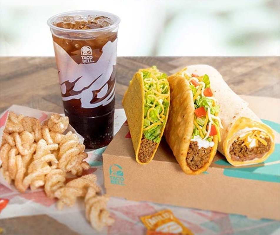 Taco Bell $5 Chalupa Cravings Box