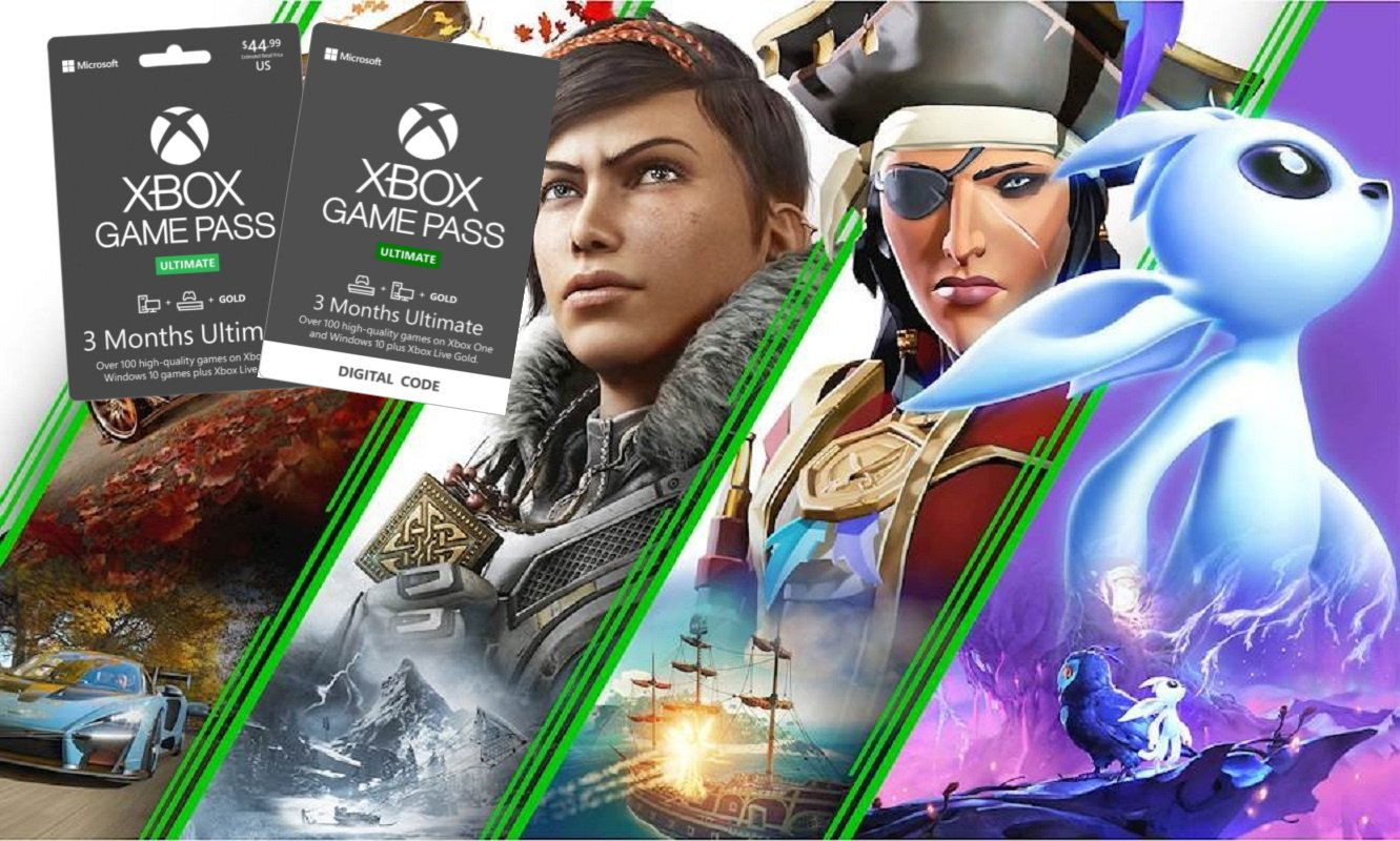 Xbox Game Pass Ultimate 3 Month Only $22 – You Save 50%! *EXPIRED*