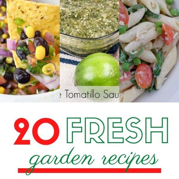 Fresh Garden Recipes Pinterest Picture