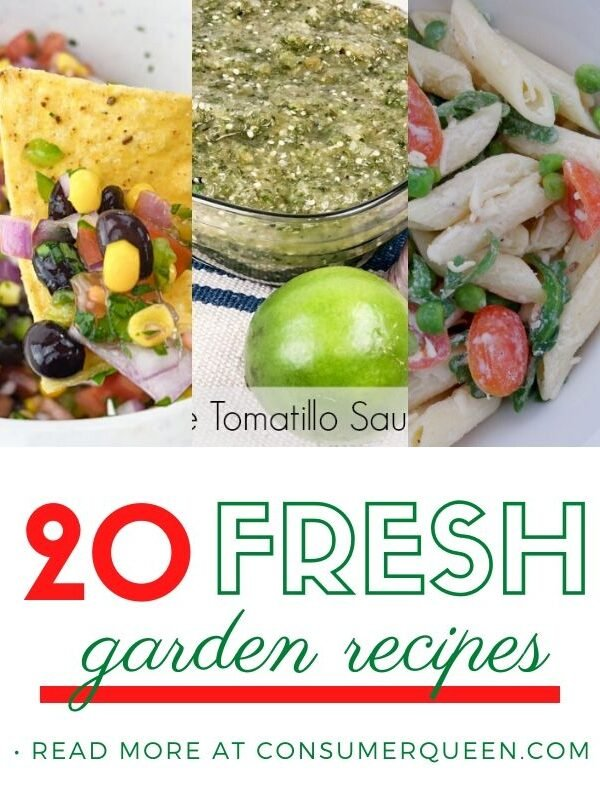 Fresh Garden Recipes Pinterest Picture