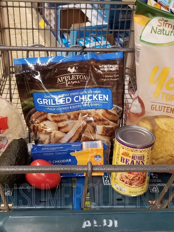 Chicken Fajita Meal for 4 + Leftovers Under $12 at Aldi