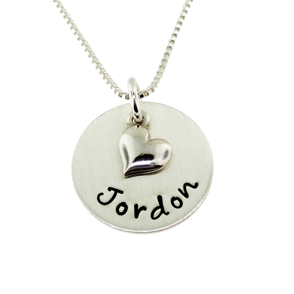 AJs collection necklace personalized