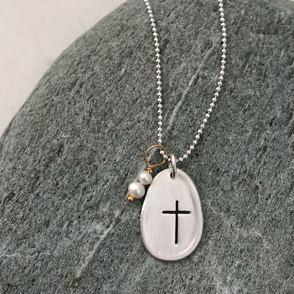 Faith Necklace from Isabelle Grace Jewelry