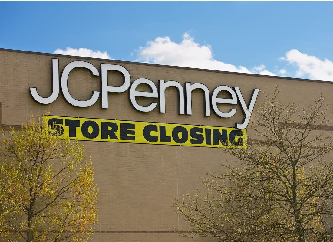 JCPenney Store Closures by State – Is  Yours on the List?