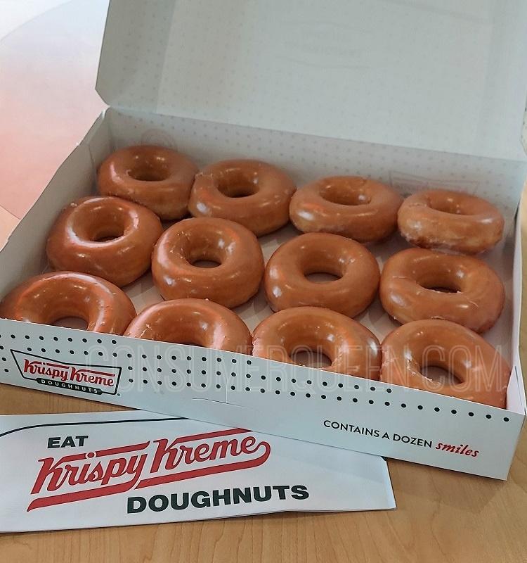 Krispy Kreme Glazed Doughnuts Only $5.99/Dozen (Rewards Members) *EXPIRED*