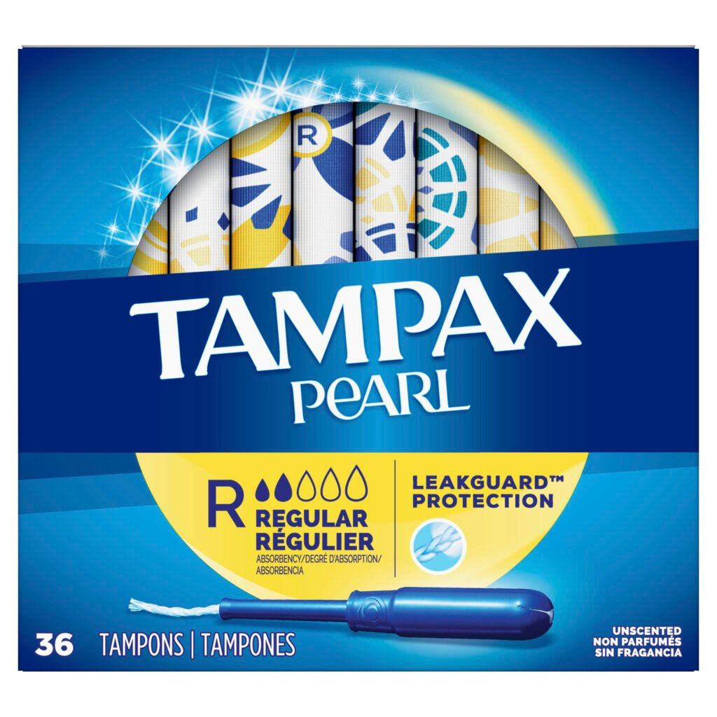 Tampax Pearl 36 count product picture
