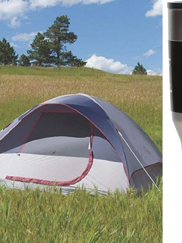 Coleman 4 Person Tent + TWO 30oz. Tumblers ONLY $43.51 Shipped (Reg. $60!)