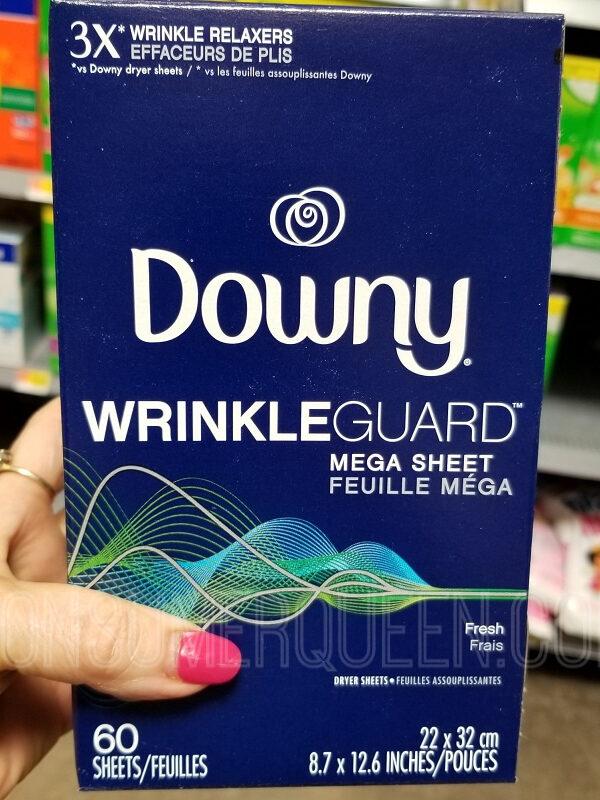 Downy Wrinkle Guard 60-ct. ONLY $1.47 at Walmart After Cash Back (Reg. $4.97!)