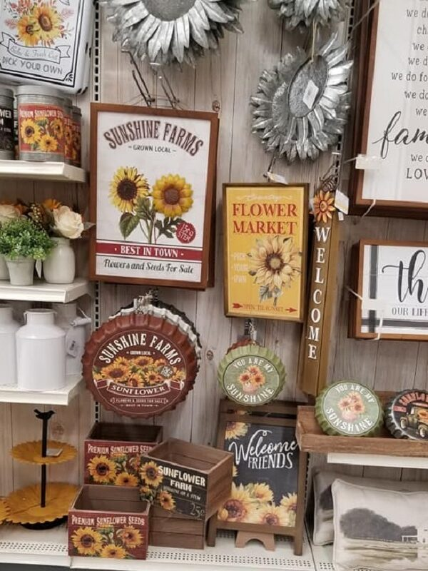 Fall Home Decor at Michaels