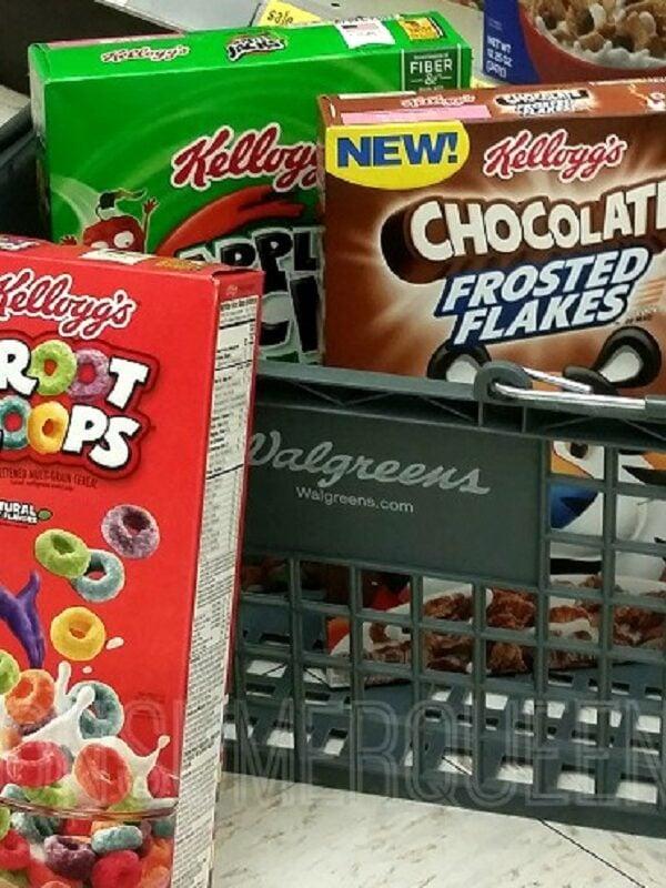 Kelloggs Cereal Walgreens