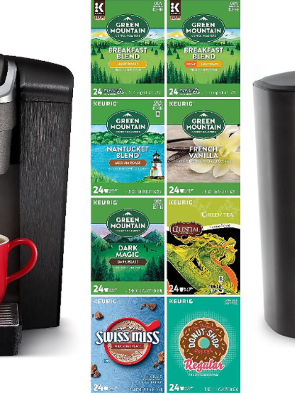 Keurig Coffee Maker + 192ct. Pods JUST $15.99 (Reg. $280!)