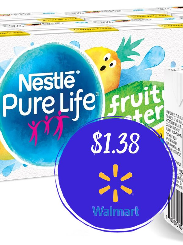 Nestle Pure Life Fruity Water 8-Pack Just $1.38 at Walmart!