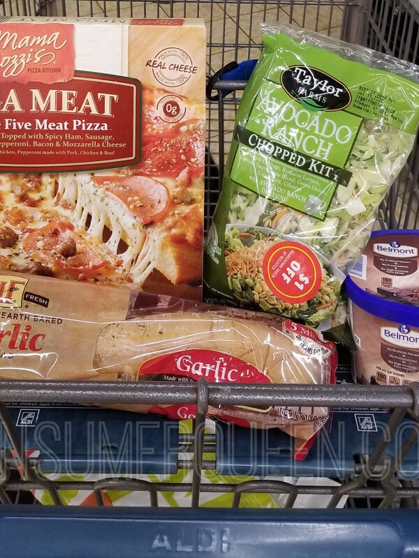 Pizza Night For 4 + Leftovers Under $11 a Aldi!
