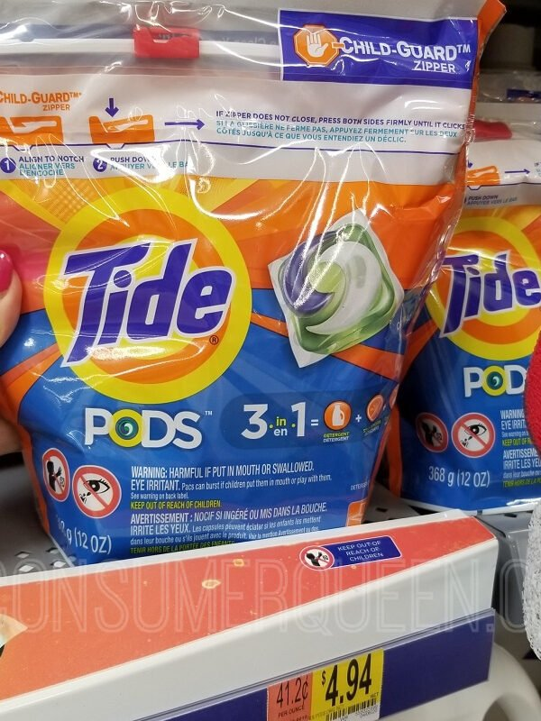Tide Pods 16 Count as Low as 94¢ at Walmart After Cash Back!