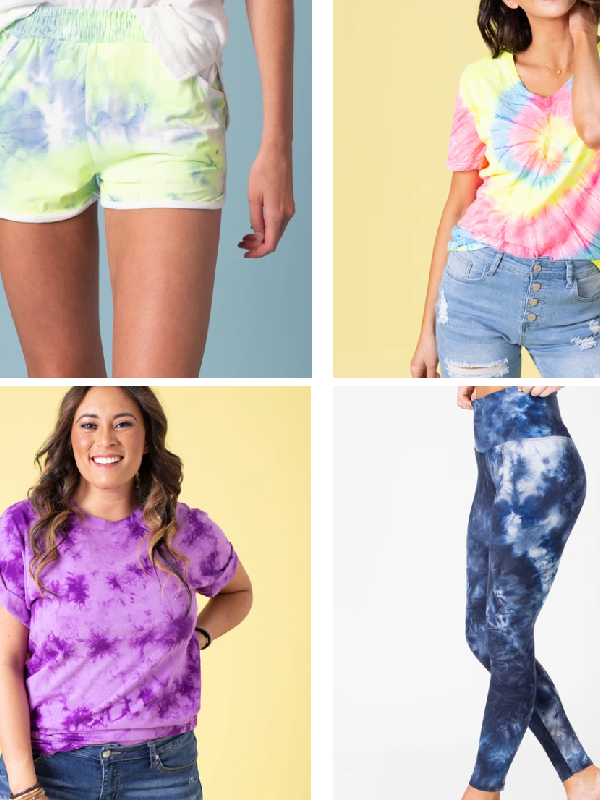 Tie Dye Tees and More