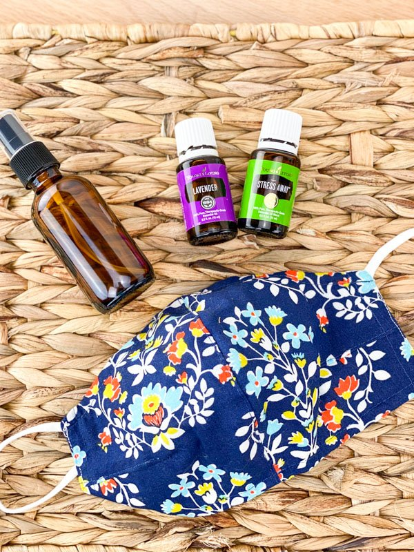 My Favorite Face Mask Spray- Lavender and Stress Away