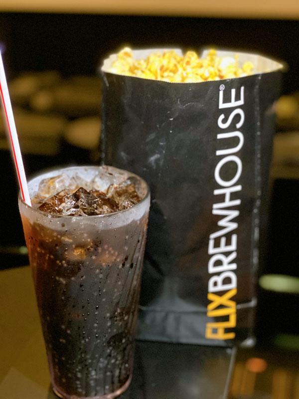 Flix Brewhouse popcorn