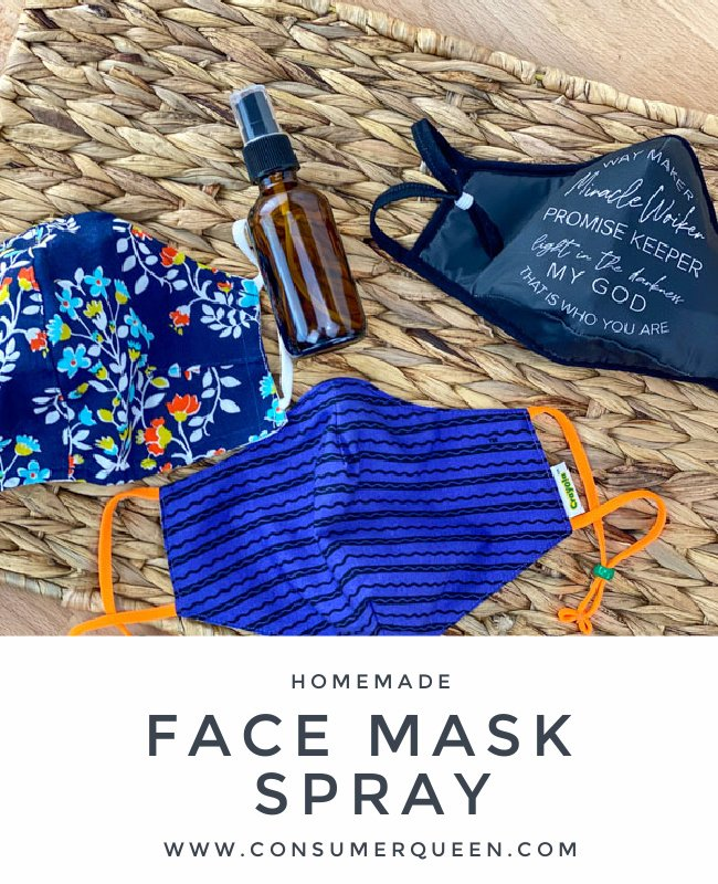 HOMEMADE FACE MASK SPRAY