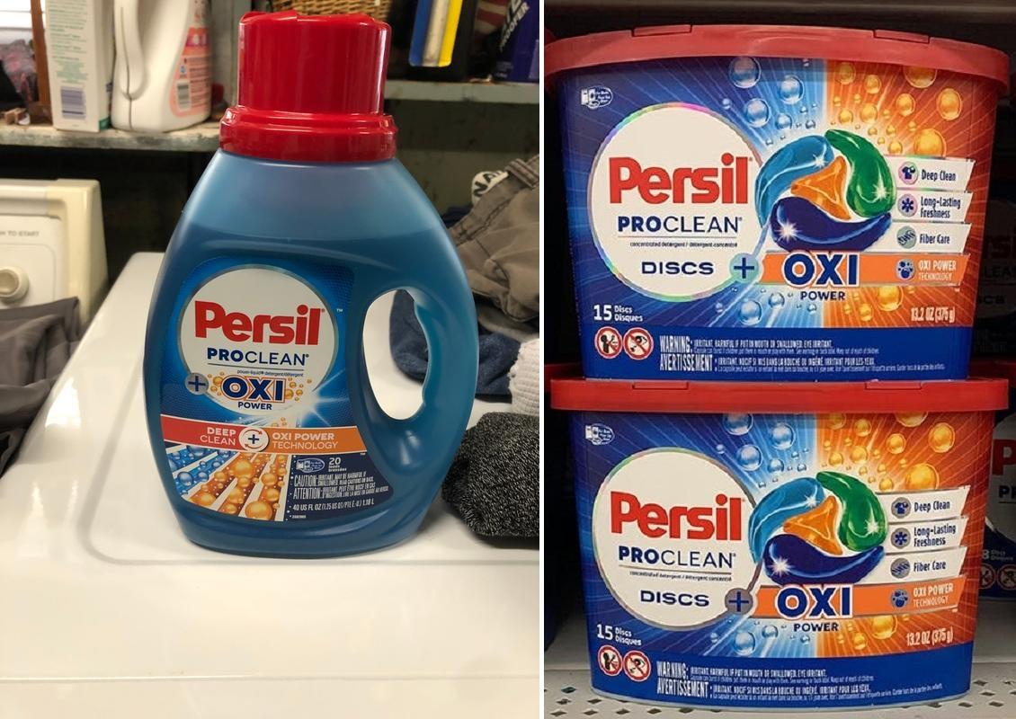 Persil ProClean Oxi at Walmart