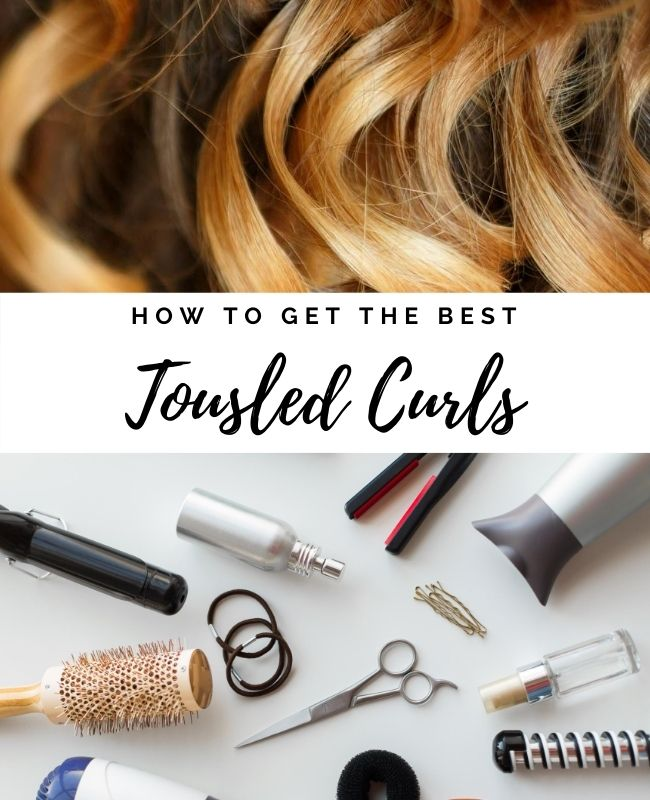Tousled Curls Pinterest