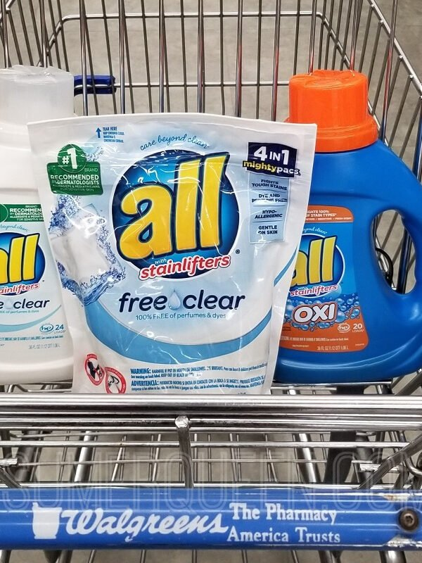 All Detergent ONLY $2.64 at Walgreens This Week!