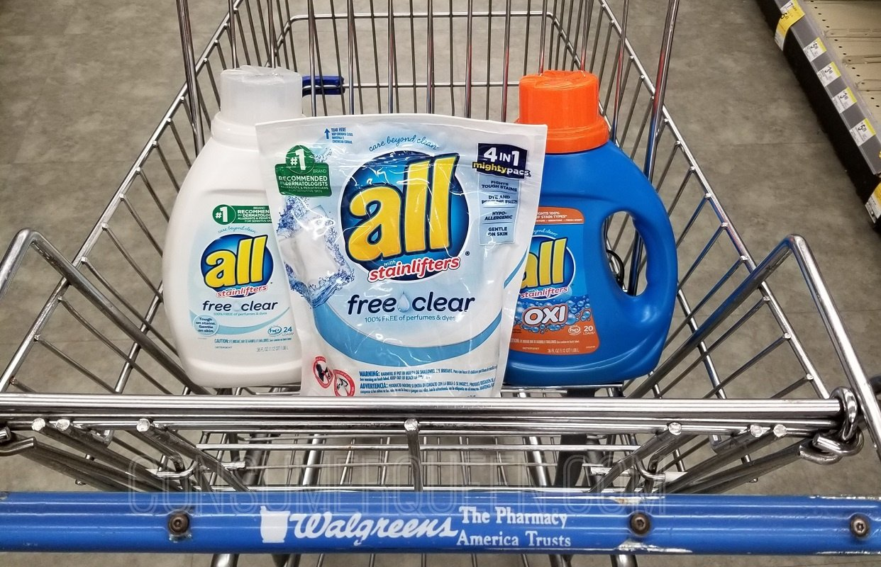 All detergent - All Mighty Pacs