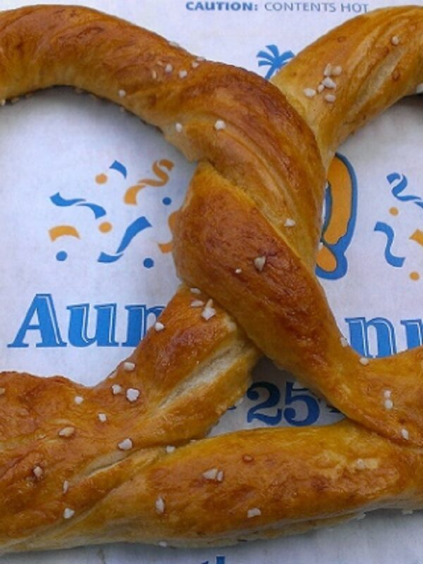 Auntie Anne's App Coupon: $5 off Your $20 Purchase + More!