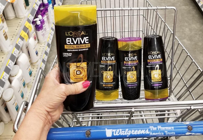 Elvive Hair Care ONLY 97¢ at Walgreens, $1 at CVS!