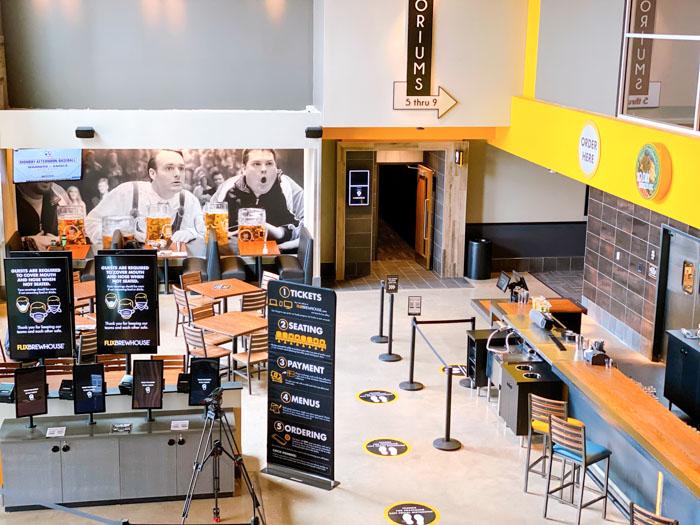 Flix Brewhouse Lobby