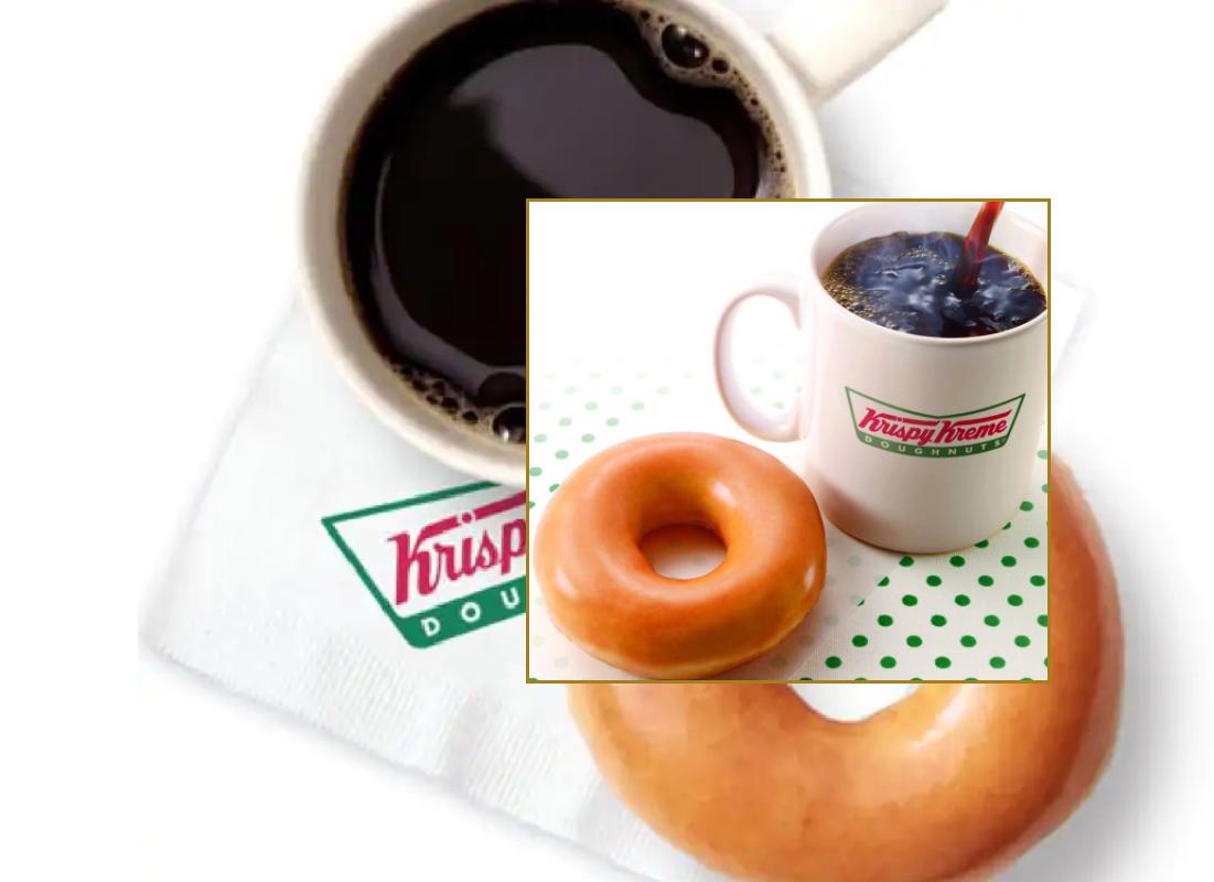 Free Coffee AND Doughnut at Krispy Kreme