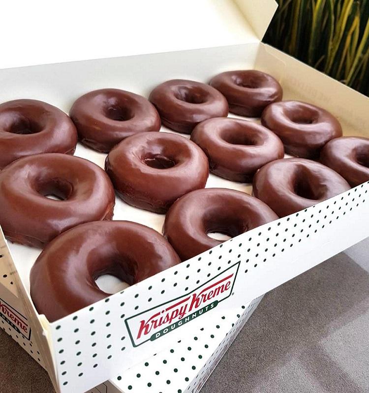 Krispy Kreme Chocolate Dozen 75% Off WYB Any Dozen! *EXPIRED*