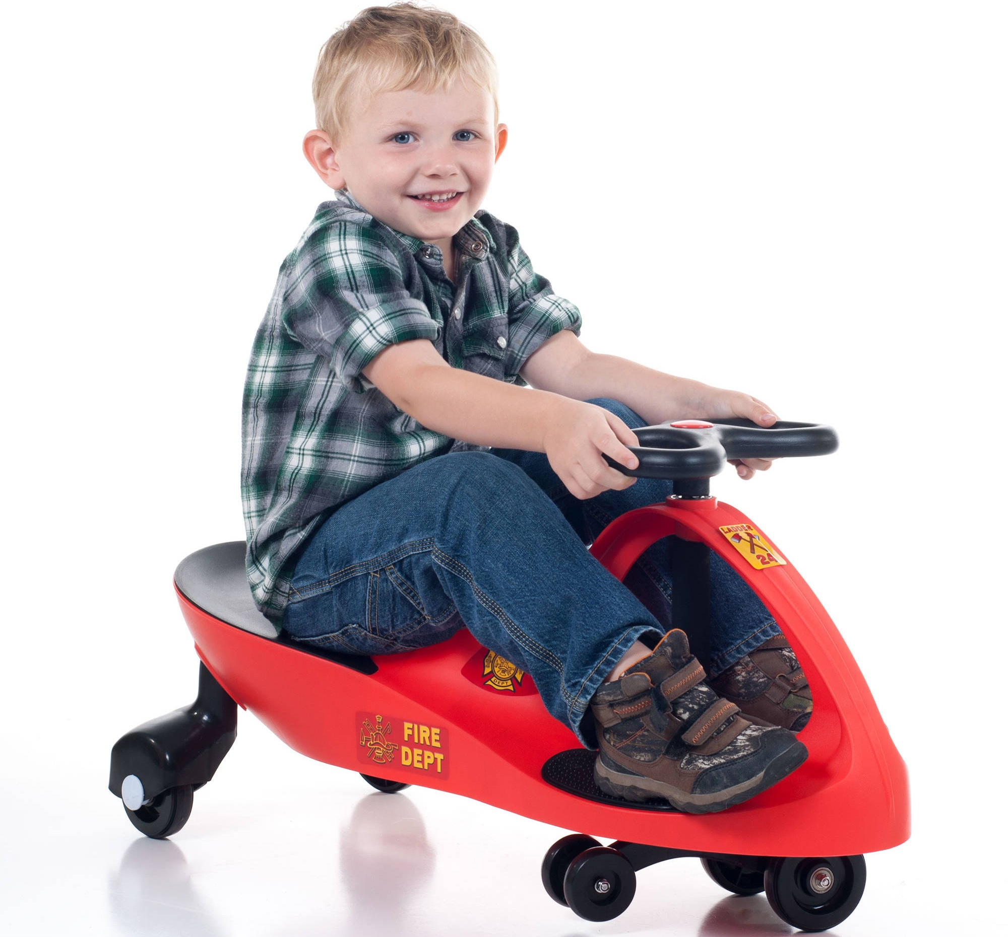 Lil Rider Fire Truck Wiggle Ride-On ONLY $29.99 (Reg. $85!) *EXPIRED*