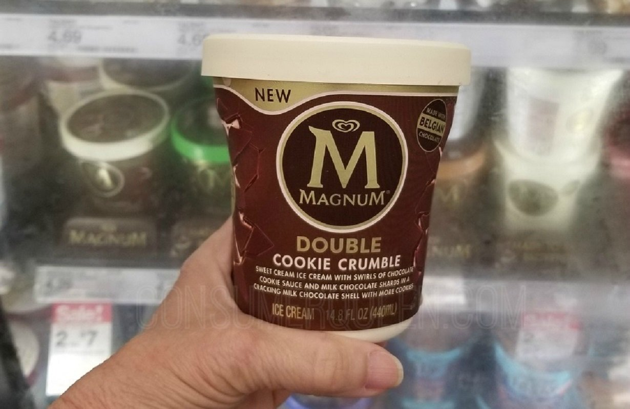 Magnum Ice Cream Tubs $2.73 at Walmart + Target Deal – Print Your Coupon Now!