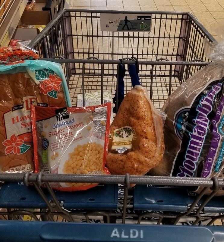 Oven Roasted Turkey Dinner for 4 + Leftovers – Under $15 at Aldi