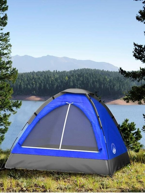 Two Person Camping Tent + 2 Sleeping Bag Only $49.97 Shipped (Reg. $180!)