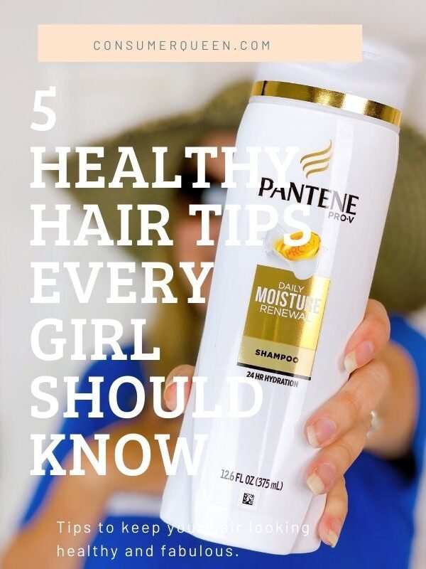 5 Healthy Hair Tips Every Girl Should Know