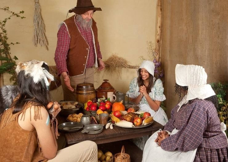 Why Thanksgiving is Celebrated - Thanksgiving meal