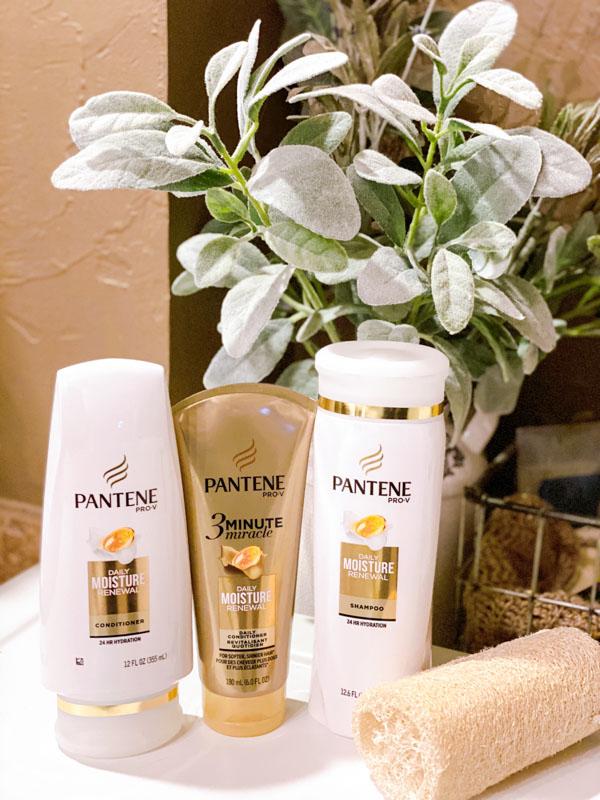 Pantene healthy hair trio