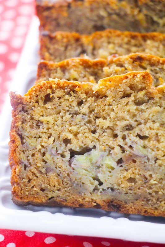 Best Banana Bread…EVER! It's so simple too!