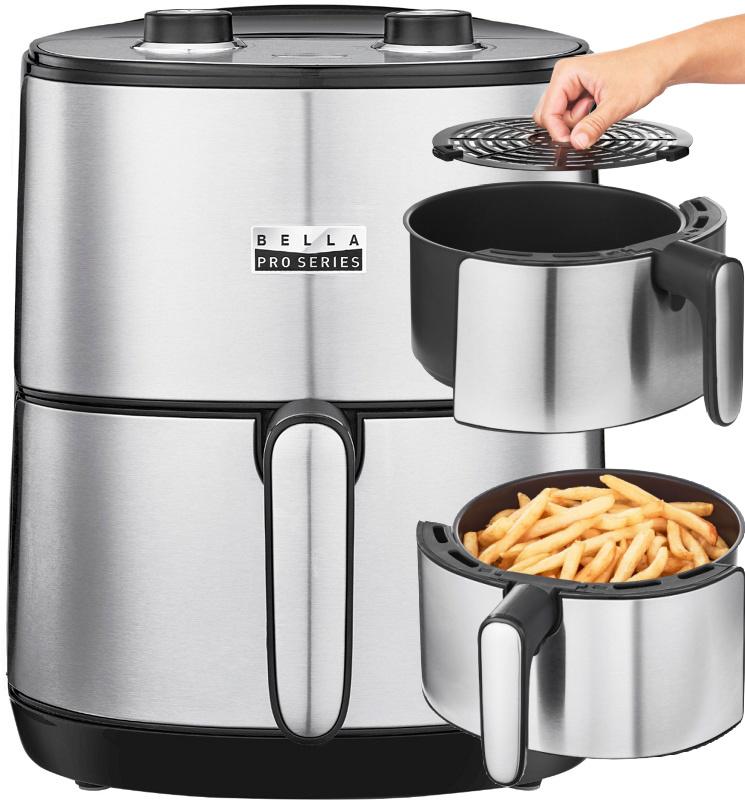 Bella Pro Series 4.3Qt Analog Air Fryer