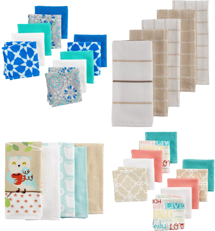 Kitchen Dishcloths 10 Pack as Low as $11.89 at Kohl's – Ships Free (Reg. $22) *EXPIRED*