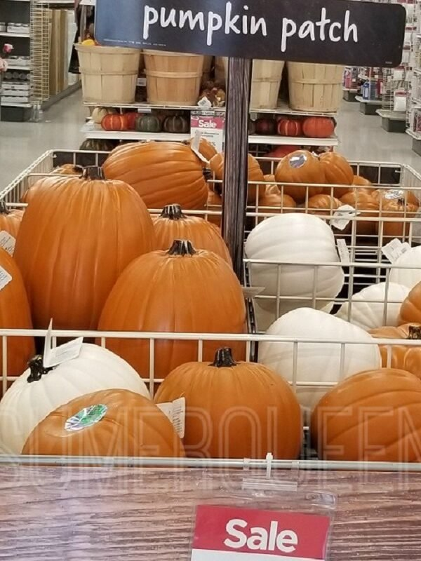 Craft Pumpkins at Michaels