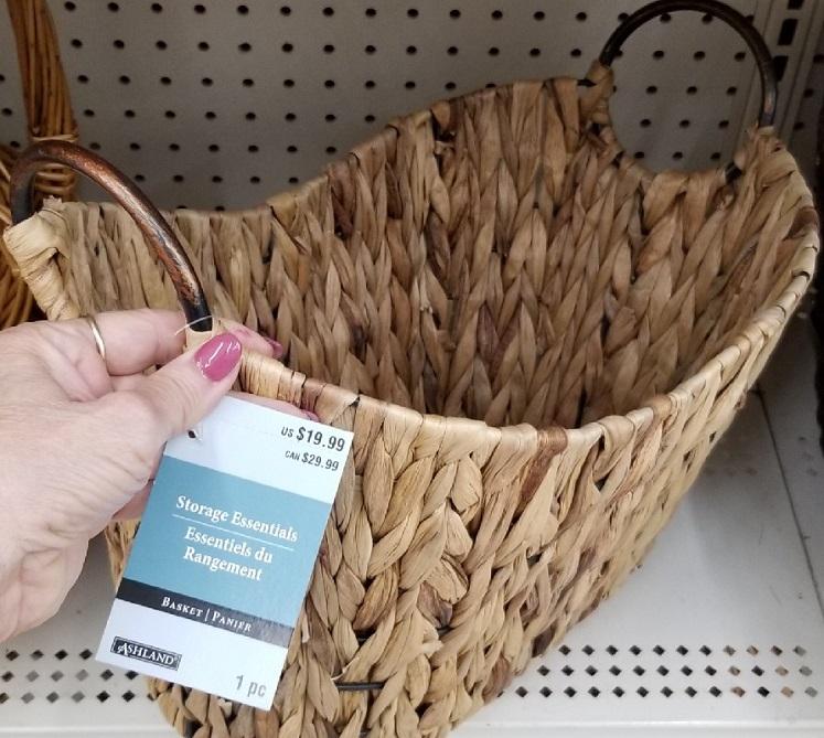 Decorative Basket at Michaels