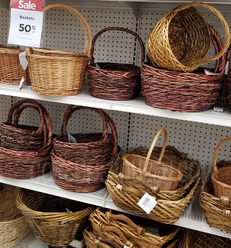 Decorative Baskets 50-60% Off at Michaels (Starting at $1.99!)