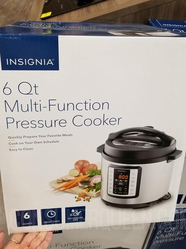 Insignia Multi-Function Pressure Cooker