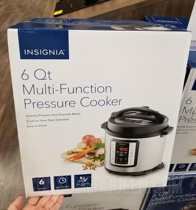 Insignia Multi-Function Pressure Cooker (6-Qt) $24.99 – Reg. $60!