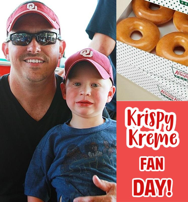 Krispy Kreme Spirit Day – Score $5 Dozen When Wearing Fan Gear!