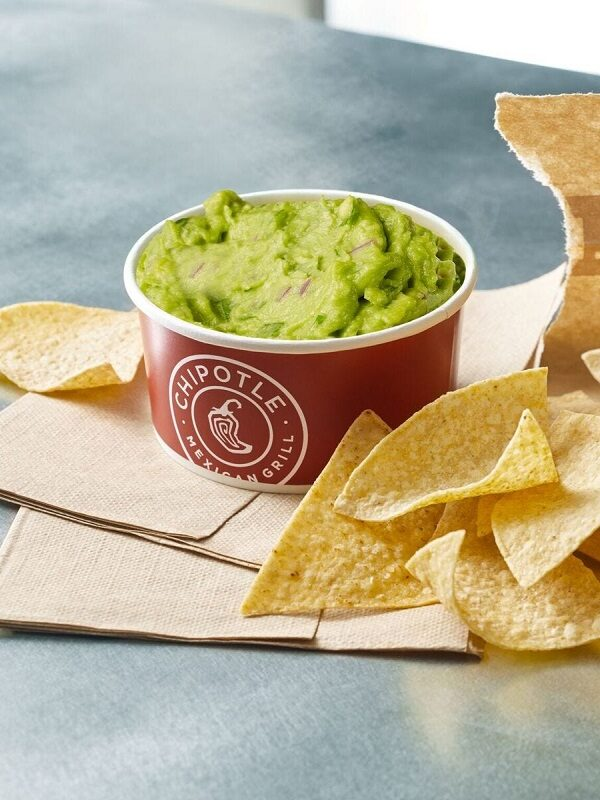 Large Chis and Guac Free at Chipolte